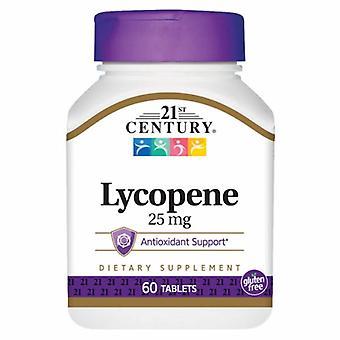 21st Century Lycopene, 25 mg, 60 Faner