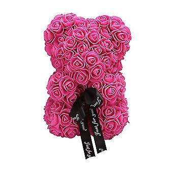 Valentine's day gift 25 cm rose bear birthday gift£¬ memory day gift teddy bear(Rose Red)