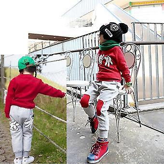 Herbst Kinder Sweatshirt Kleidung Unisex Kinder Stein-Papier-Schere Outfits