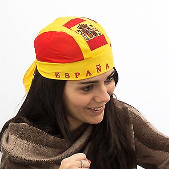 Spanish Flag Bandana Hat