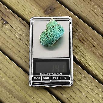 0.1g 1000g 1kg デジタルジュエリーポケットスケール電子液晶バランス重量