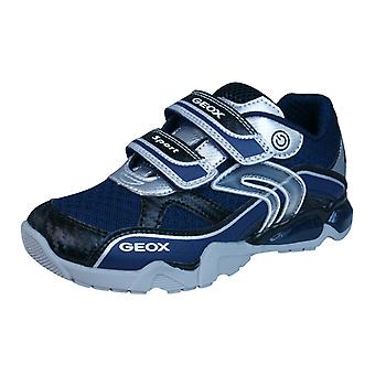 Geox J LT Eclipse B dzieci chłopców buty sportowe / buty - granatowy