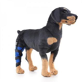 エヴァゴ犬右後ろ足ブレースサポート犬足圧縮ラップショルダーは、傷ブレース余分な支持ホックジョイントを癒しが怪我を防ぎます