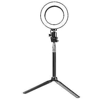 Led Circular Camera Video Ring Light (Negru)