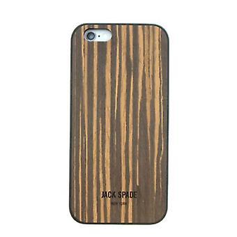 Original Jack Spade Wood Case for Apple iPhone 6/6S (Wood Veneer Macassar Ebony)