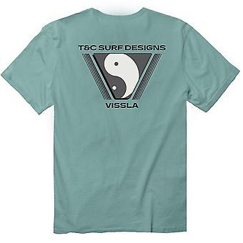 Vissla t&c yin yang t-shirt de poche bio