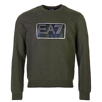 Men's Long Sleeve T-Shirt Armani Jeans 6ZPM60 PJ05Z Green