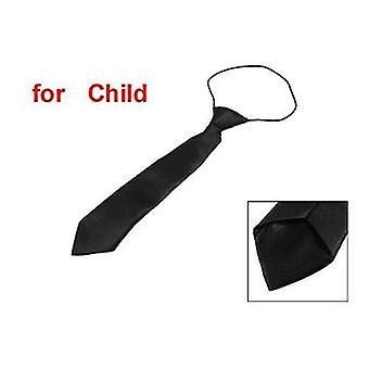 Polyester elastische schlanke Hochzeit - Krawatte für Baby