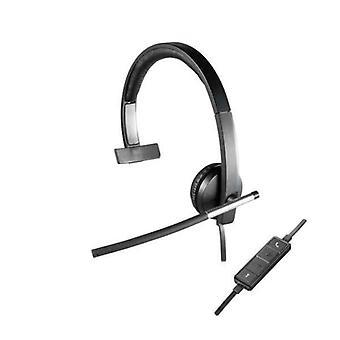Headphones with Microphone Logitech H650e Black
