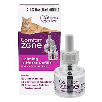 Comfort Zone Calming Diffuser Refills For Cats and Kittens - 2 count