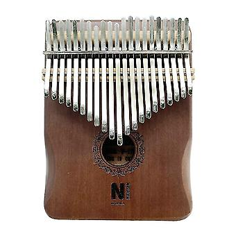 Kalimba piano pulgar 21 teclas instrumento musical portátil para niños adulto principiante