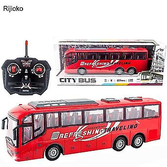 Toy cars 4ch electric wireless remote control school bus
