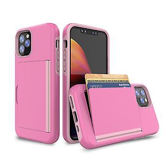 Vaaleanpunainen kotelo iphone Xr: lle