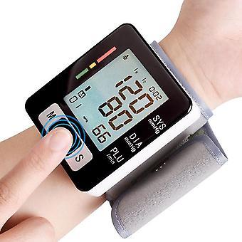 Monitor krevního tlaku, plně automatický přesný automatický elektronický sphygmomanometr zápěstí