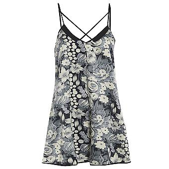 Floral Cross tilbake Playsuit TRS231-14
