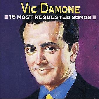 Vic Damone - 16 mest begärda låtar [CD] USA import
