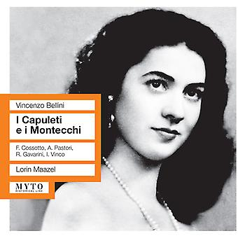 Bellini / Tatozzi / Pastori / Cosotto / Maazel - I Capuleti E I Montecchi [CD] USA import