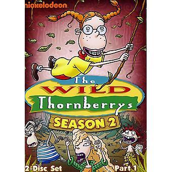 Wild Thornberrys - Wild Thornberrys: sesong 2 Pt. 1 [DVD] USA import