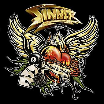 Sinner - Crash & Burn [CD] USA import