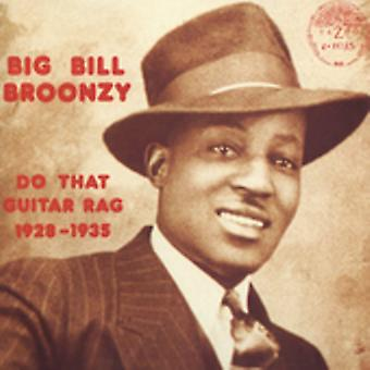 Big Bill Broonzy - Do That Guitar Rag 1928-35 [CD] USA import