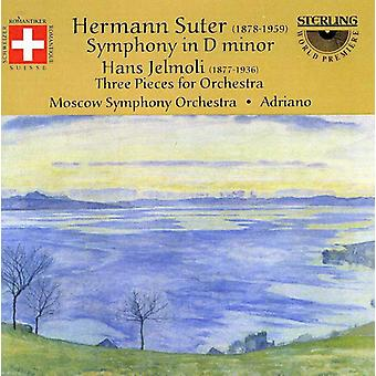 Suter/Jelmoli - Hermann Suter: Symphony in D Minor; Hans Jelmoli: Three Pieces for Orchestra [CD] USA import