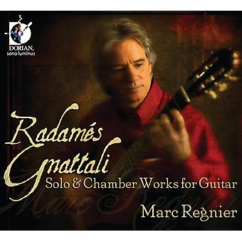 R. Gnattali - Radam S Gnattali: Solo & Chamber Works for Guitar [CD] USA import