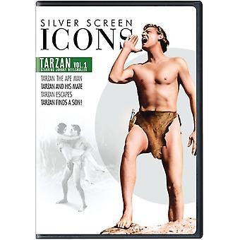 Icone dello schermo d'argento: Johnny Weissmuller Tarzan 1 importare [DVD] Stati Uniti d'America