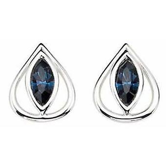 925 hopea kristalli Swarovski korvakoru