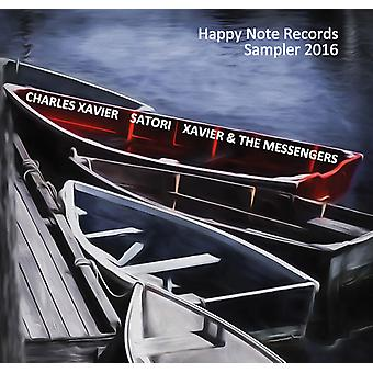 Charles Xavier - Happy Note Records Sampler 2016 [CD] USA import