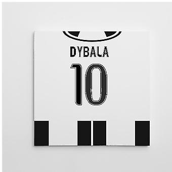 2016-2017 Juventus холст печать (Dybala 10)
