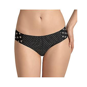 Anita Maternity 1434-001 Women's Black Polka Dot Maternity Brief
