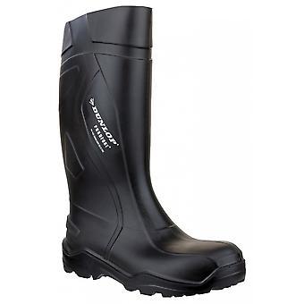 C762041 / Dunlop Purofort + Full Wellington de seguridad / botas de seguridad para hombre