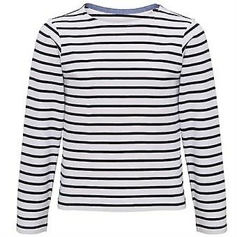Asquith & Fox Childrens/Kids Mariniere Coastal Long Sleeve T-Shirt