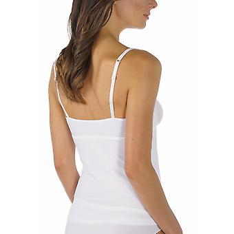 Emotion couleur unie blanche courte Underslip Mey 55224-1 féminin