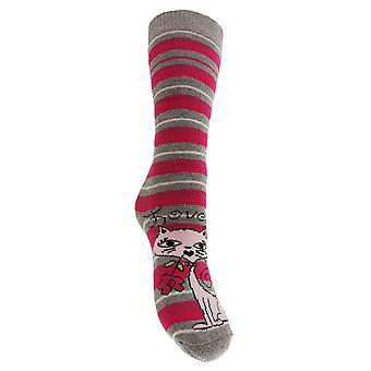 Childrens Girls Wellington/Welly Long Boot Socks (6 Designs)