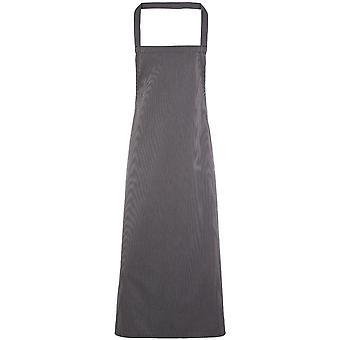 Premier Mens & Womens/Ladies Vertical Stripe Chef's Workwear Bib Apron