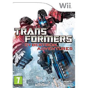Transformers Cybertron Adventures (Nintendo Wii)-fabriken förseglad