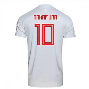 2018-2019 Japan weg Adidas voetbalshirt (Nakamura 10)