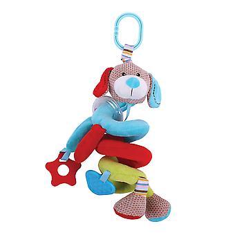 Bigjigs giocattoli morbidi peluche Bruno spirale culla Rattle sensoriale neonato regalo