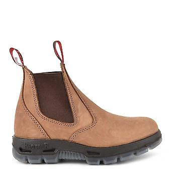 Redback Boots Crazy Horse Brown Ubch Leather Chelsea Boot