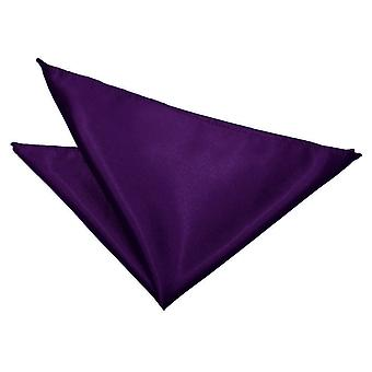 Purple Plain Satin Tasche Platz