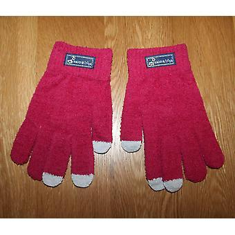 Touch Screen Gloves - Dark Pink
