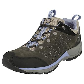 Damen Merrell Air Cushion Trainer Vogelgrippe Licht Leder