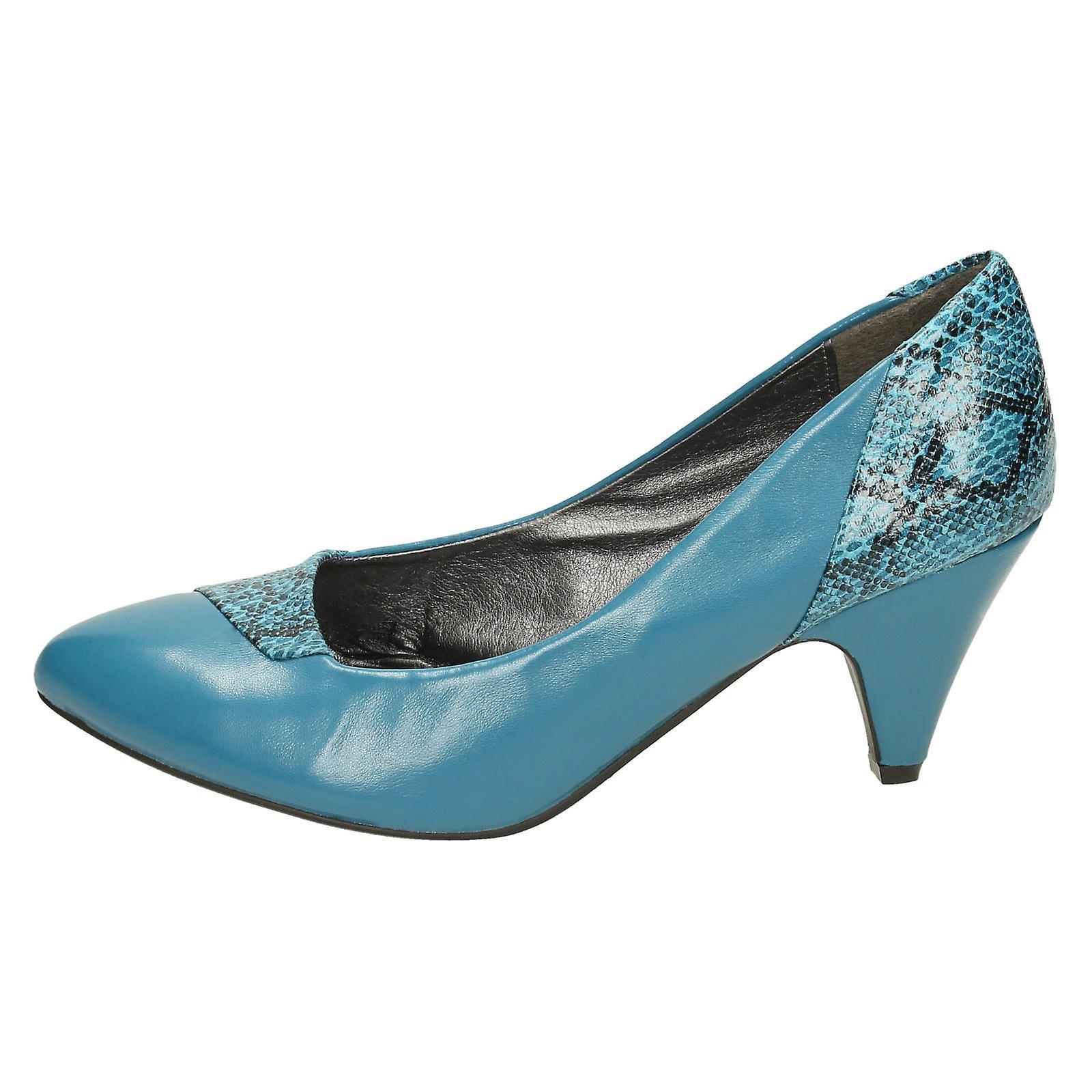 Spot De Dames Sur Cour Talons Chaussures F9409
