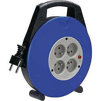 Brennenstuhl 1104464 Cable reel 10.00 m Black France plug