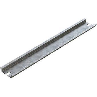 Deltron vedlegg 4DR 3512 DIN-skinne stål plate 109 mm 1 eller flere PCer