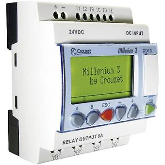 Crouzet 88970141 Millenium 3 XD10 R PLC controller 24 V DC