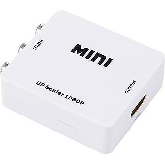 AV Converter [RCA composite - HDMI] 1920 x 1080 p SpeaKa Professional SP-AV2HDMI