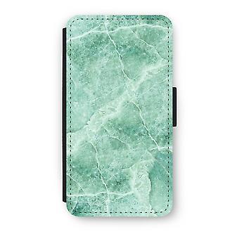 iPhone Case Flip XS - mármore verde