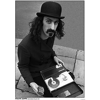Frank Zappa Street Street Recorder Poster Poster Print